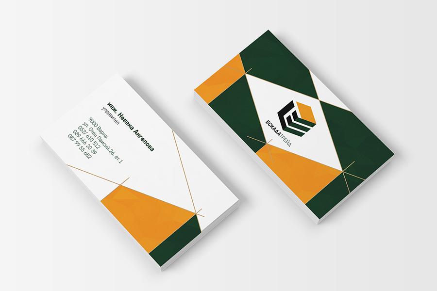 Buziness card StudioDES Eskada trade