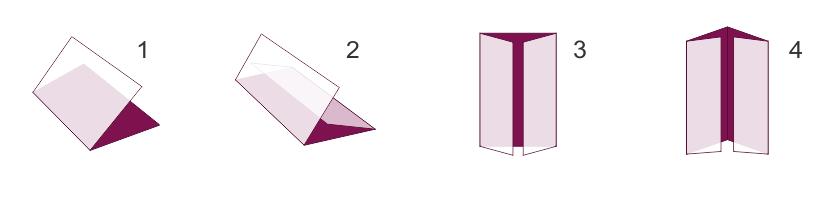 Студио ДЕС - дипляни, сгъване 1, 2, 3, 4