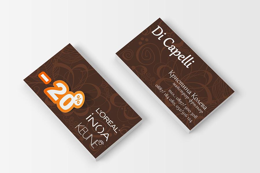 Buziness card StudioDES Di Capelli