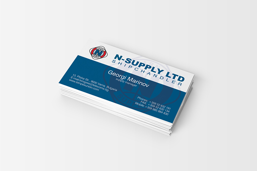 Buziness card StudioDES N-Supply